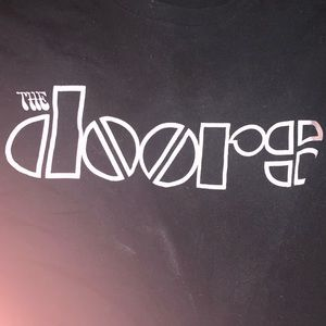 The doors black T shirt